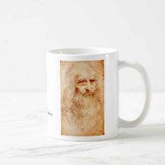 レオナルド・ダ・ヴィンチ コーヒーマグカップ