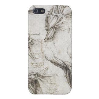 レオナルド・ダ・ヴィンチ-解剖学の絵画の勉強 iPhone 5 CASE