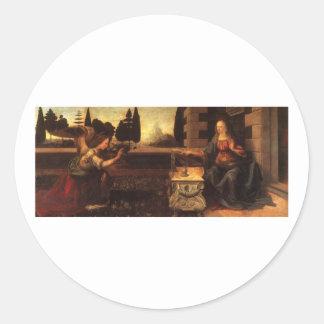 レオナルド・ダ・ヴィンチc. 1472-1475年著告知 ラウンドシール