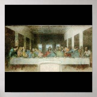 レオナルド・ダ・ヴィンチc. 1495-1498年著最後の晩餐 ポスター
