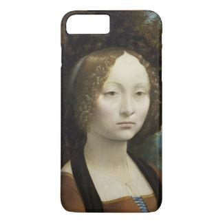 レオナルド・ダ・ヴィンチGinevra De Benciの絵画 iPhone 8 Plus/7 Plusケース