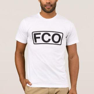 レオナルドda Vinciフィウミチノ空港コードTシャツ Tシャツ