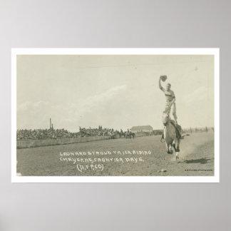 レオナルドStroudのトリックの乗馬 ポスター