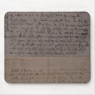 レオポルト・モーツァルトからの手紙 マウスパッド