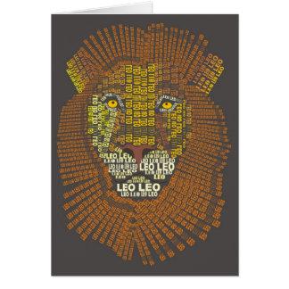 レオライオンNotecard カード
