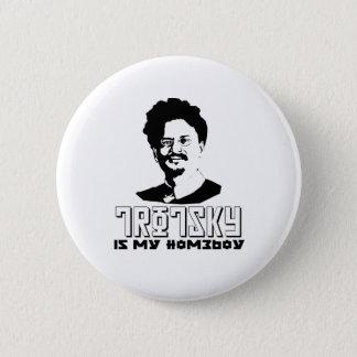 レオンTrotskyは私の同郷人です 5.7cm 丸型バッジ