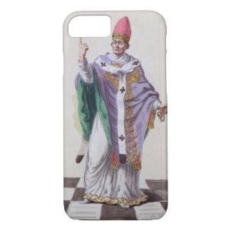 レオ法皇「Receuil des EstampesからのIII (795-816)、 iPhone 8/7ケース