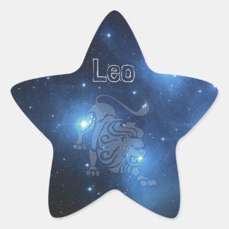 レオ 星シール