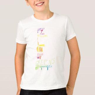 レオcolorchart tシャツ