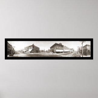 レキシントンのNEの写真1909年 ポスター