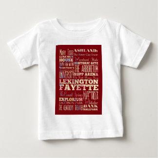 レキシントンFayette、ケンタッキーの有名な場所 ベビーTシャツ