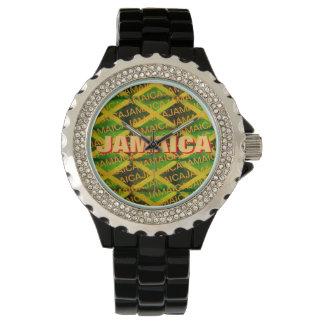 レゲエのジャマイカの根 腕時計