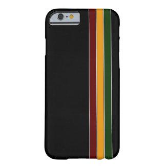 レゲエのストライプなiPhone6ケース Barely There iPhone 6 ケース