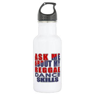 レゲエのダンスについて私に尋ねて下さい ウォーターボトル