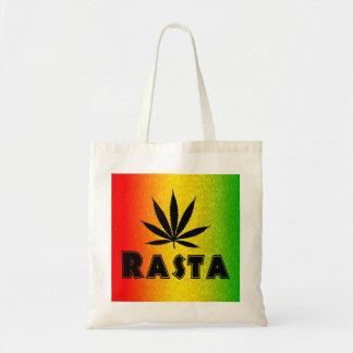 レゲエのラスタの葉のジャマイカのジャマイカの予算のトートバック トートバッグ