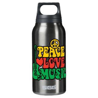 レゲエの平和愛音楽 断熱ウォーターボトル