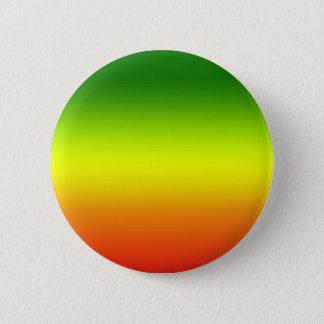 レゲエの虹の旗のデザイン 5.7CM 丸型バッジ