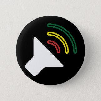 レゲエはボタンを聞きます 5.7CM 丸型バッジ