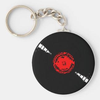 レコードのkeychain キーホルダー