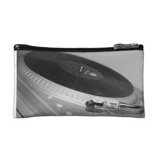 レコードプレーヤの化粧品袋 コスメティックバッグ
