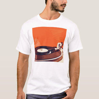 レコードプレーヤ Tシャツ
