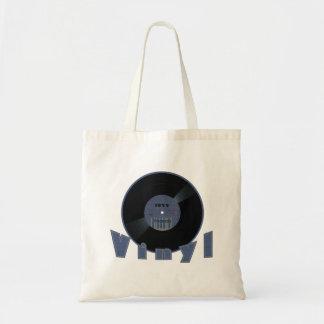 レコード1955のラベル トートバッグ