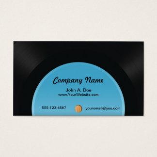 レコード 名刺