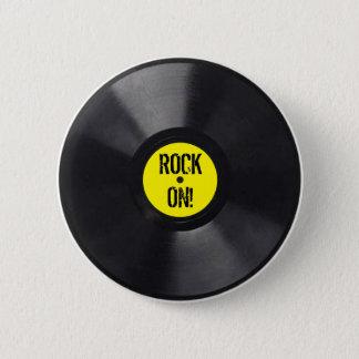 レコード 缶バッジ