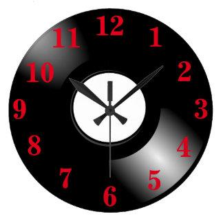 レコードLP ラージ壁時計