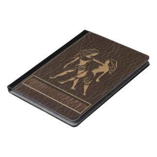 レザールックのジェミニ iPadケース