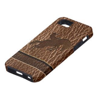 レザールックのロデオ iPhone SE/5/5s ケース