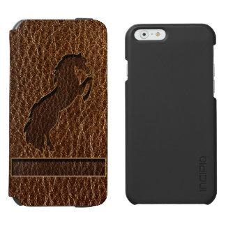 レザールックの馬2 iPhone 6/6Sウォレットケース
