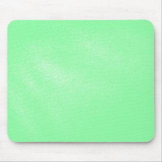 レザールックパステル調の水の緑 マウスパッド