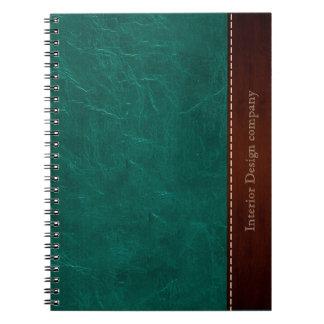 レザールック水 ノートブック
