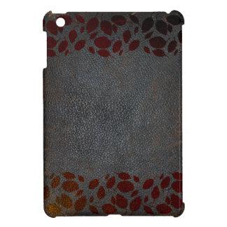 レザールック素朴な紅葉動揺してなブラウン iPad MINI CASE