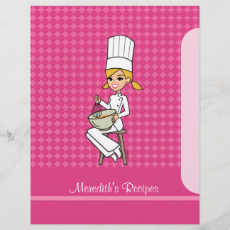 Chapter Divider for Recipe Binders Kitchen Art