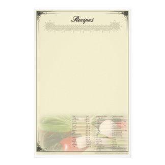 レシピの文房具Unruled 便箋
