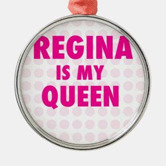 レジーナは私の女王です メタルオーナメント