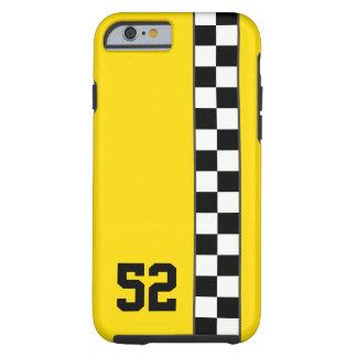 レジ係のストライプなiPhone6ケースカスタムな色及び数 ケース
