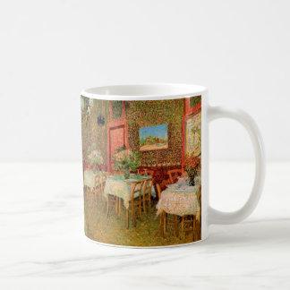 レストランのゴッホのインテリア、ヴィンテージのファインアート コーヒーマグカップ
