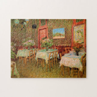 レストランのゴッホのインテリア、ヴィンテージのファインアート ジグソーパズル