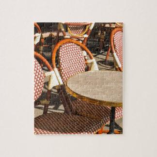 レストランのテーブル ジグソーパズル
