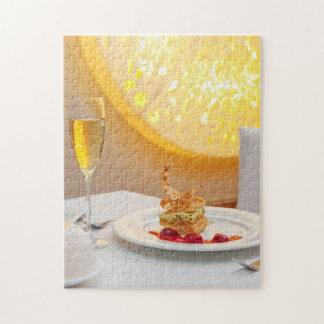 レストランのデザート ジグソーパズル