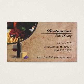 レストラン 名刺
