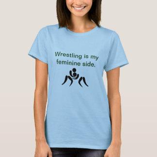 レスリングのワイシャツ Tシャツ
