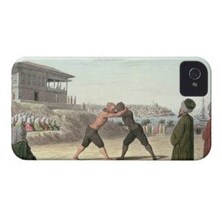 レスリングの試合、コンスタンチノープル(w/c紙で) Case-Mate iPhone 4 ケース