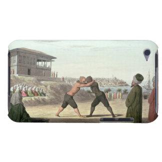 レスリングの試合、コンスタンチノープル(w/c紙で) Case-Mate iPod touch ケース