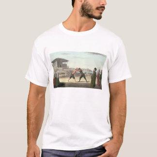 レスリングの試合、コンスタンチノープル(w/c紙で) tシャツ