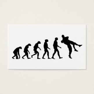 レスリングの進化 名刺