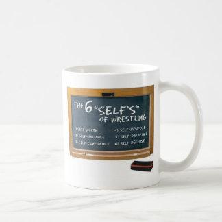 レスリングの6つの原則 コーヒーマグカップ